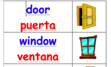 Bilingual (English-Spanish) Labels for Classrooms with ELLs