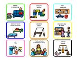 Bilingual (English/Spanish) free time choice board
