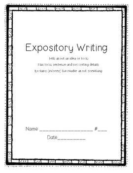 Bilingual Expository Template