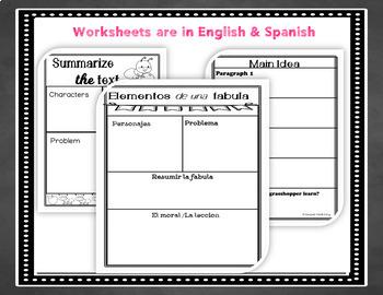 Bilingual Fable Bundle in English & Spanish