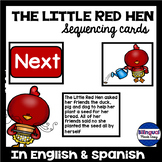 Bilingual Fable: The Little Red Hen Sequencing Activity in