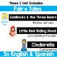 Bilingual Fairy Tales Bundle in English & Spanish