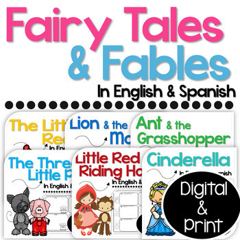 Bilingual Fairy Tales and Fables Bundle