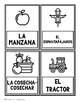 Bilingual Fall Holiday Word Cards