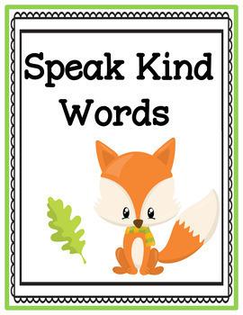 Bilingual Classroom Rules - Fall Theme