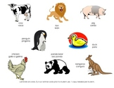 Bilingual Farm Animal Sorting