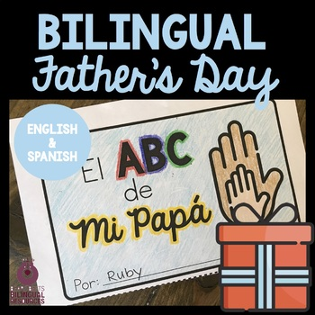 Bilingual Father's Day Book Project