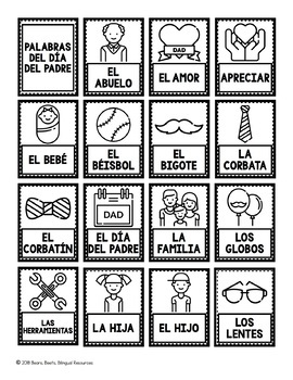 Bilingual Father's Day Bundle