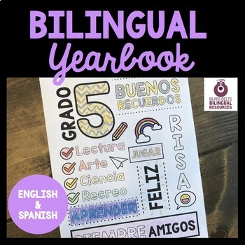 Bilingual Fifth Grade Yearbook
