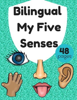 Bilingual Five Senses (Los cinco sentidos bilingue)