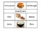 Bilingual Flash Cards (English/Spanish): Food
