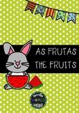 Bilingual Flashcards Português - English The Fruits