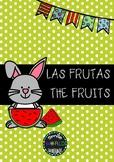 Bilingual Flashcards Spanish - English The Fruits Español