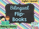 Bilingual Flip Book: Clothing & Seasons