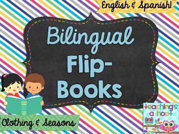Bilingual Flip Book: Clothing & Seasons