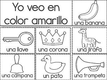 Bilingual Flip Book: Colors