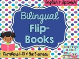 Bilingual Flip Book: The 5 Senses