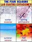 Bilingual Spanish and English Four Seasons/Cuatro Estacion