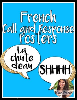 Bilingual/French Call and Response Posters