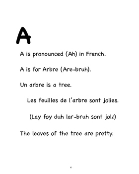 Bilingual French/English ABC/Abécédaire book