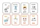 Bilingual French/English  opposites  flashcards .23 pairs .6 pages .