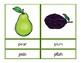 Bilingual Fruit Vocabulary / Vocabulario de las frutas paquete bilingüe