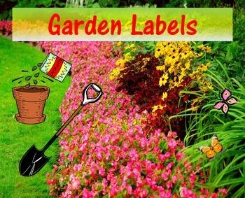 Bilingual Garden Labels