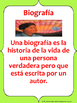 Bilingual Genre Poster Pack for Upper Elementary (Spanish and English)