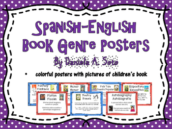 Bilingual Genre Posters (Spanish-English)
