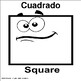 Geometric Shapes Bilingual Flash Cards
