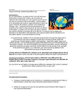 Bilingual Global Warming Lab