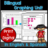 Bilingual Graphing Unit in English & Spanish