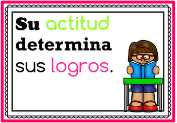 Bilingual Growth Mindset Posters in English & Spanish