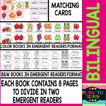 Bilingual Guided Reading Books - Level A - 218 Pages