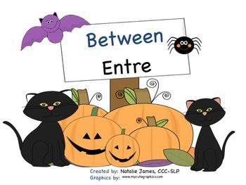 Bilingual (Spanish/English) Halloween Between Concept Interactive Book