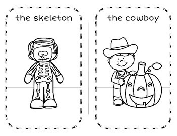 Bilingual Halloween Coloring Book