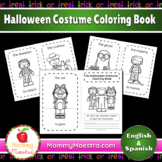 Bilingual Halloween Coloring Book