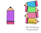 Bilingual Handwriting Practice Book & ASL!