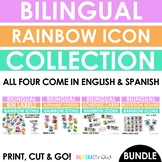 Bilingual ICON Posters, Labels, Schedule Cards and Literac