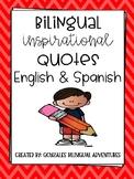 Bilingual Inspirational Quotes