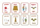 Bilingual Italian/English  opposites  flashcards .23 pairs .6 pages .