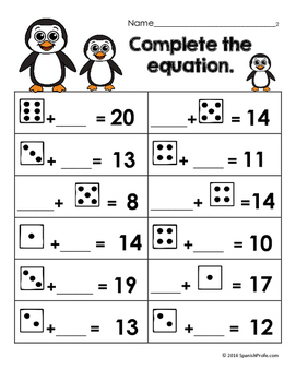 bilingual january first grade math worksheets and centers english spanish 1st. Black Bedroom Furniture Sets. Home Design Ideas