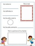 Bilingual Kindergarten Interest Inventory (For Parents and Children)