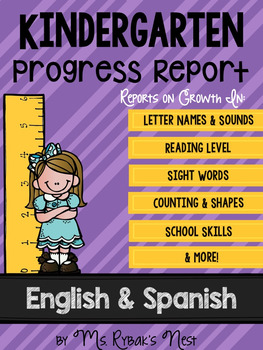 Bilingual Kindergarten Progress Report