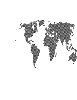 Bilingual Labels and Maps of the World
