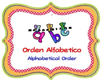 Bilingual Literacy Centers Labels
