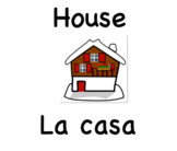 Bilingual Literacy Labels for Home - Spanish