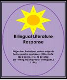Bilingual Literature Response/Responder a la literatura