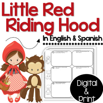 Bilingual Little Red Riding Hood Fairy Tale Unit