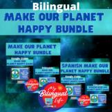 Bilingual Make Our Planet Happy Interactive Google Slides
